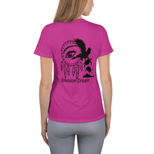 Load image into Gallery viewer, Envision, Capture, Roam Pink Athletic Woman's Shirt
