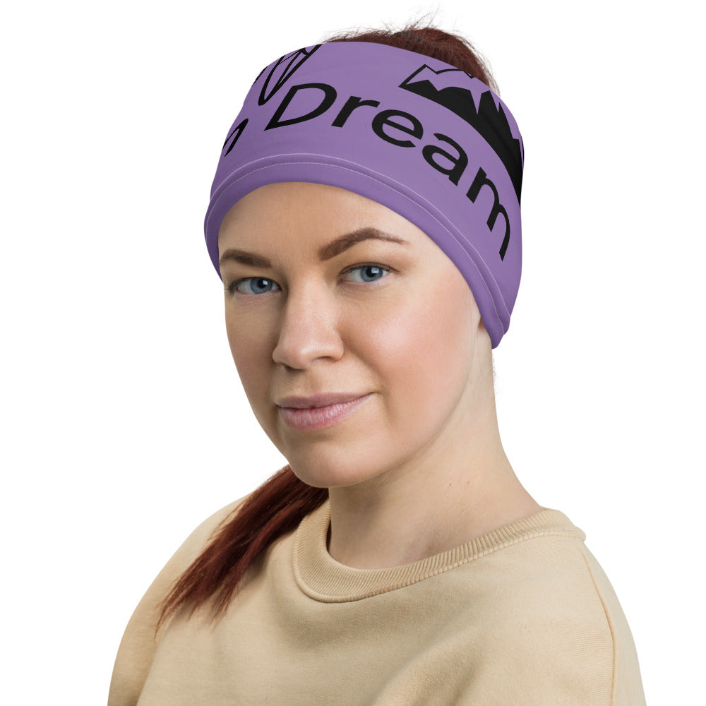Envision Dream Versatile Purple Head Wrap and Neck Warmer