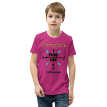 Load image into Gallery viewer, Narragansett Compass Tribe Vibe Youth Short Sleeve T-Shirt