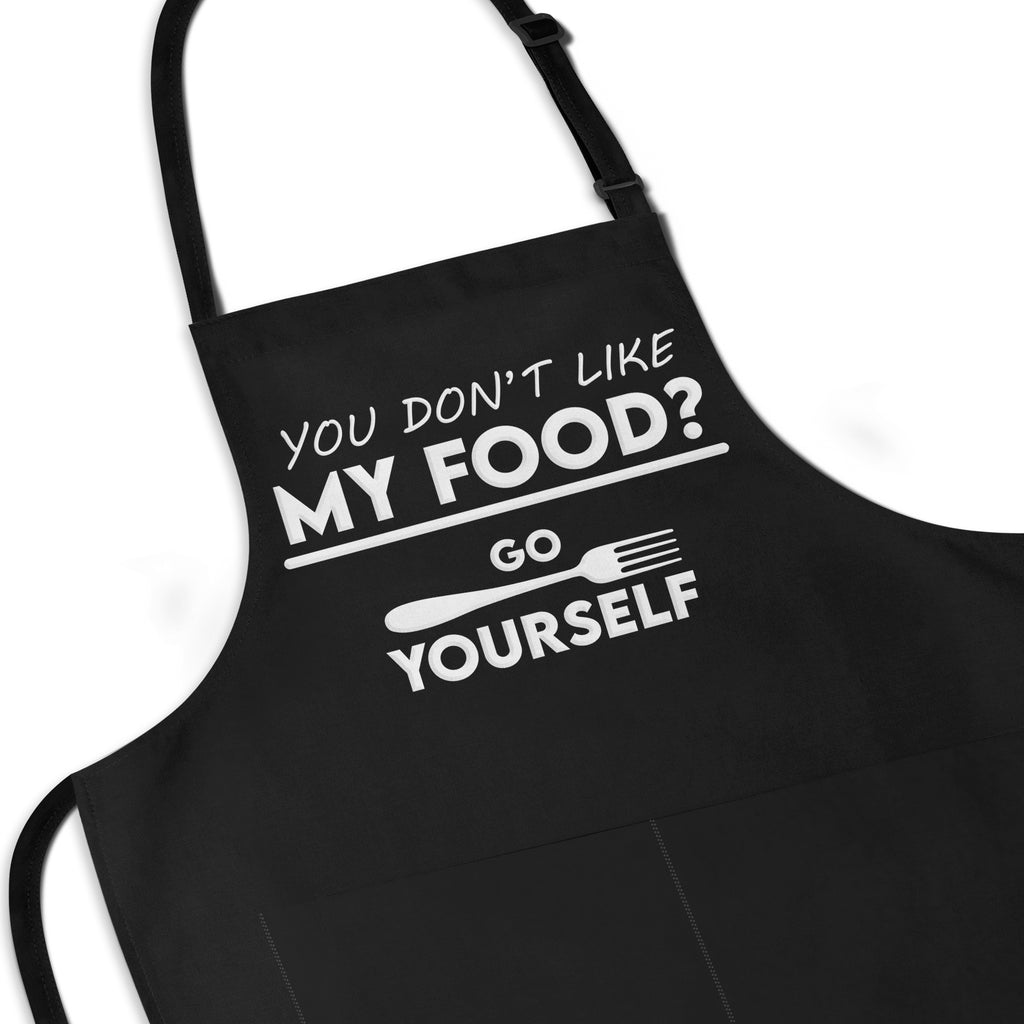 Go Fork Yourself - Funny Cooking Apron