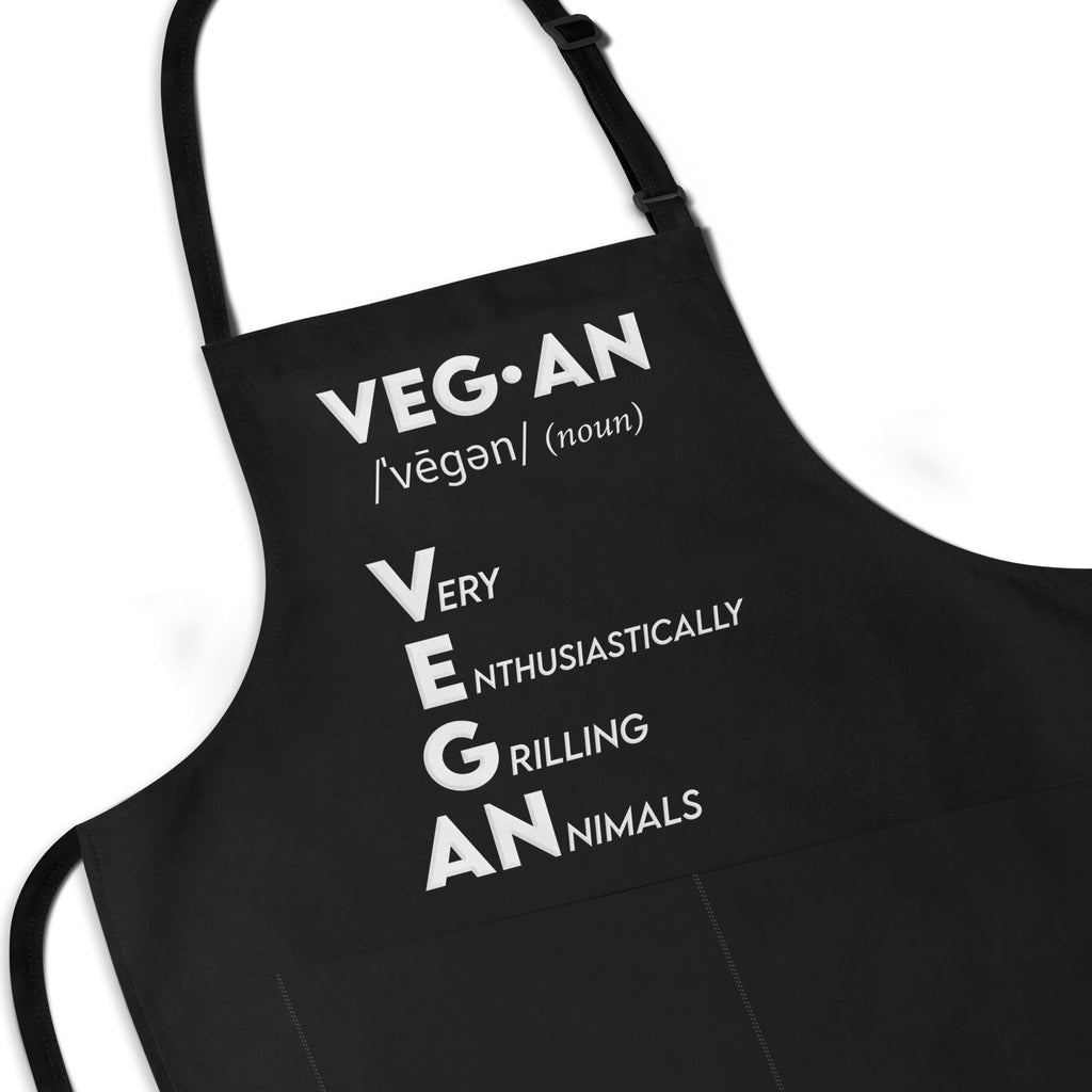 VEGAN Definition Apron