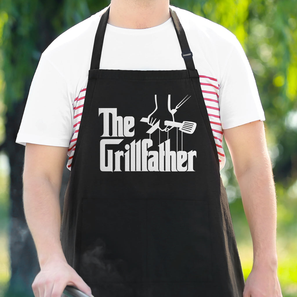 The Grillfather - Men's Funny Apron