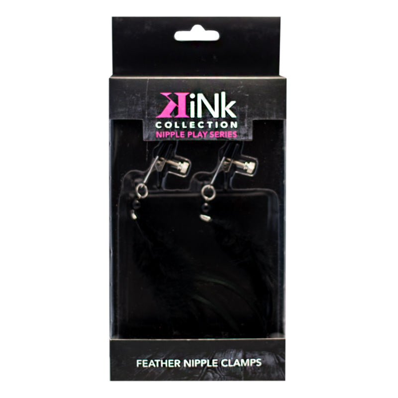 Kink Collection Feather Alligator Nipple Clamps