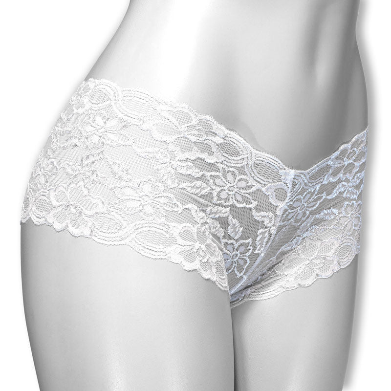 La Lure Floral Lace Boyshort Panties