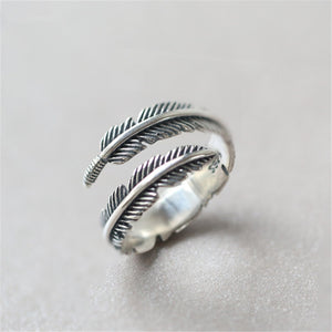 Deep Feather Ring