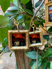 """Lighthouse"" Lemoine Art Earrings"