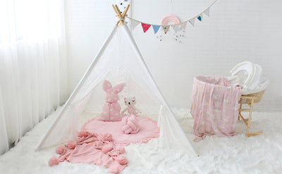 tipi enfant semi-transparent