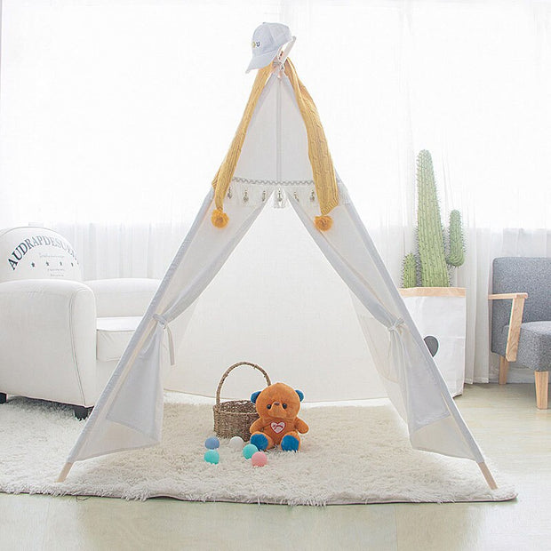 tipi enfant blanc simple