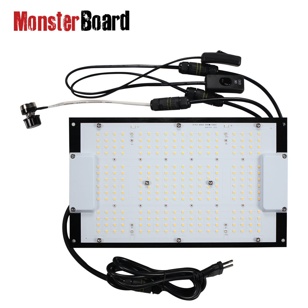 MonsterBoard 120w full spectrum led grow light