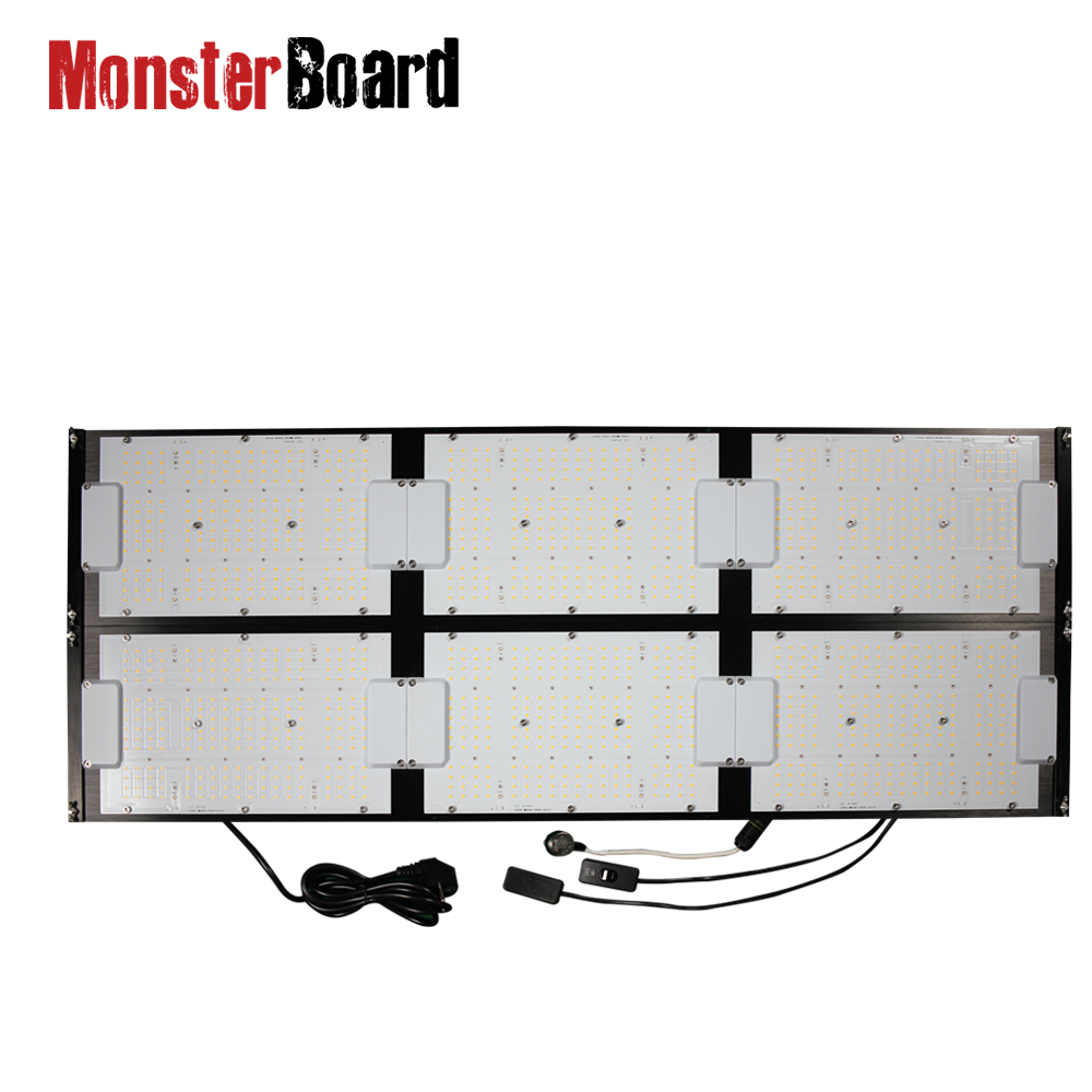 MonsterBoard 600w full spectrum led grow light