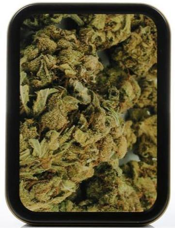 Large Metal Buds Stash Storage Tin - Best Bongs And More