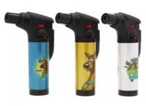 Large Scooby Doo Stand Up Blow Torch Refillable Jet Lighter