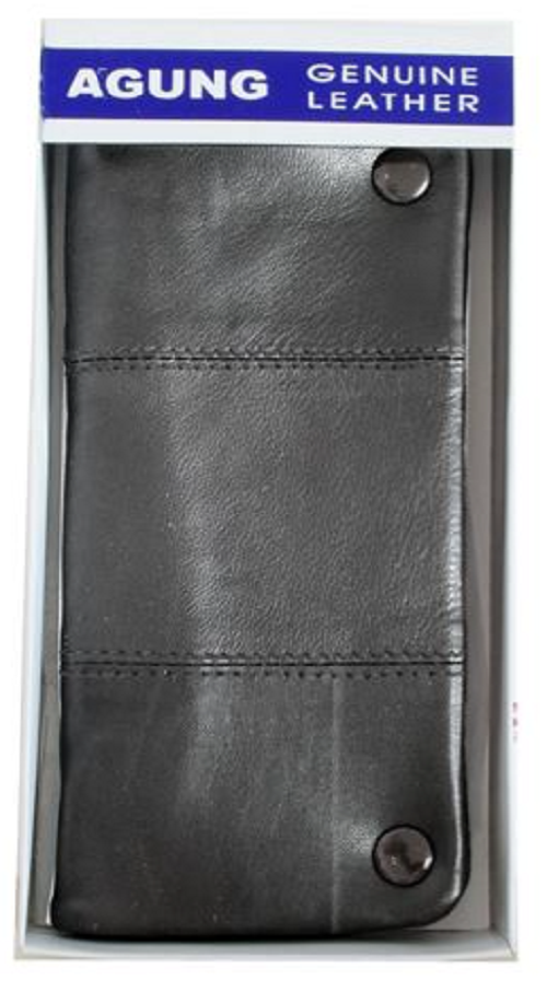 Agung Large Leather Tobacco Pouch (Choose Colour) - Best Bongs And More