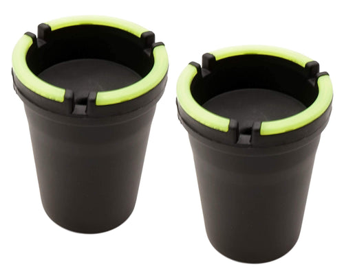Glow In The Dark Butt Bucket Ashtrays 2 PACK - Best Bongs And More