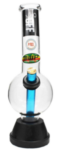 MWP Fuck Off Glass Bong 25cm - Best Bongs And More