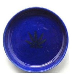 Ceramic Leaf Design Mull Chop Bowls (Choose Colour) - Best Bongs And More