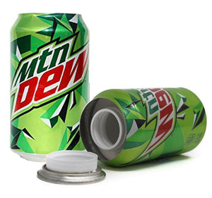 Secret Mountain Dew Hidden Safe Storage Stash Can 375mL - Best Bongs And More