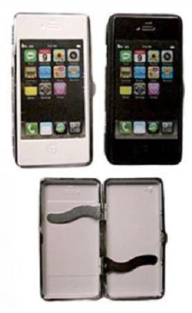 iPhone Design Cigarette Storage Hard Case - Best Bongs And More