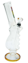 Load image into Gallery viewer, MWP Large Amber Gripper All Glass Bong 31cm - Best Bongs And More