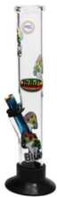 Load image into Gallery viewer, MWP Mushroom Straight Didgeridoo Glass Bong 31cm - Best Bongs And More