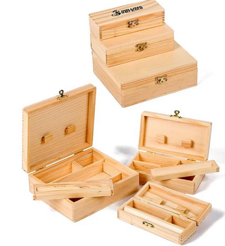 Rolling Supreme Deluxe Wooden Stash Storage Boxes (Various Sizes) - Best Bongs And More