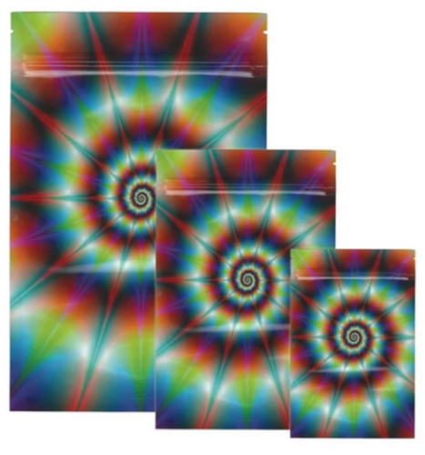 Stealth Tie Dye Smell Proof Bags (Small & Large) - Best Bongs And More