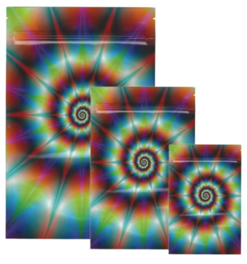Stealth Tie Dye Smell Proof Bags (Small & Large)