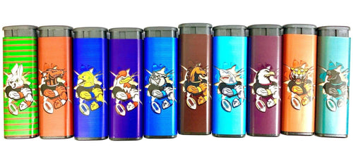 NRL Teams Jet Lighter Refillable (Choose Team) - Best Bongs And More