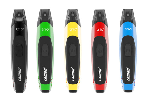 Trio Lambo Pod Vape Kit (Various Colours) - Best Bongs And More