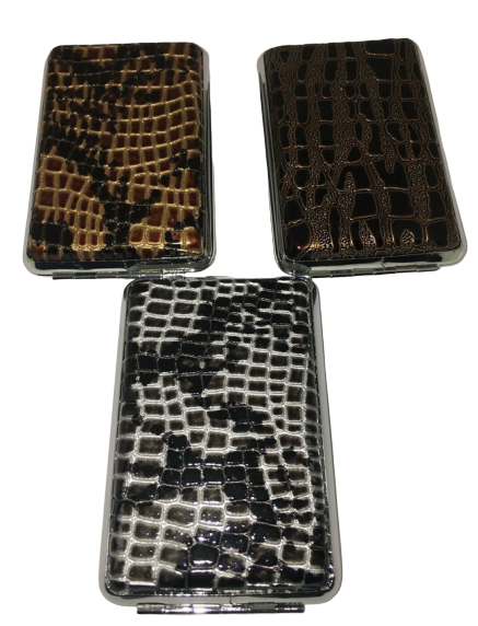 Crocodile Skin Designs Cigarette Hard Case Tobacco Storage