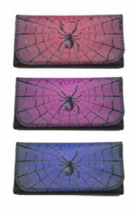 Spider Designs Tobacco Pouch Storage (Holds 25 Grams) - Best Bongs And More