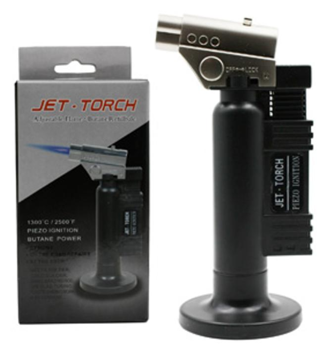 Stand Up Blow Torch Flame Refillable Jet Lighter
