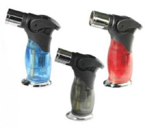 Stand Up Blow Torch Refillable Triple Jet Lighter