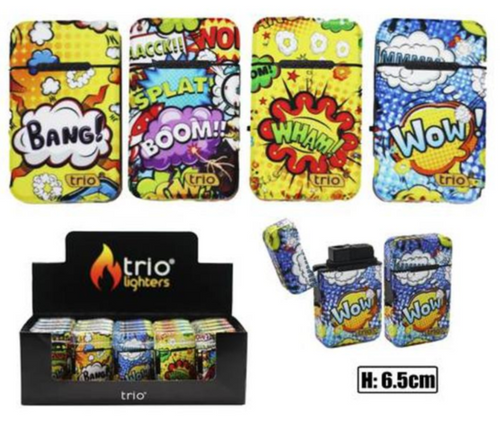 Wow Design Refillable Jet Lighter - Best Bongs And More