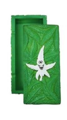 Canna Heros Green Stash Box Storage Compartment - Best Bongs And More