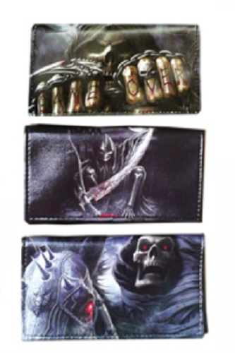 Skull Designs Tobacco Pouch Storage (Holds 25 Grams) - Best Bongs And More