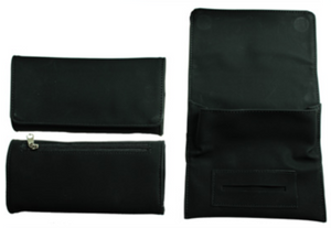 Plain Black Tobacco Pouch Storage (Holds 50 Grams) - Best Bongs And More