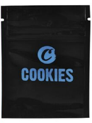 Cookies Sack Smell Proof Bag 10 x 7.6cm - Best Bongs And More
