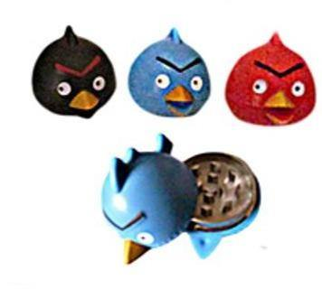 Angry Birds 2 Layer Metal Grinder - Best Bongs And More