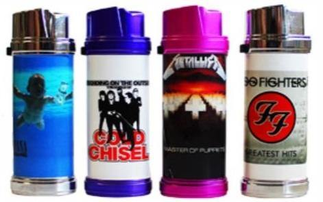 Band Design Refillable Jet Lighters