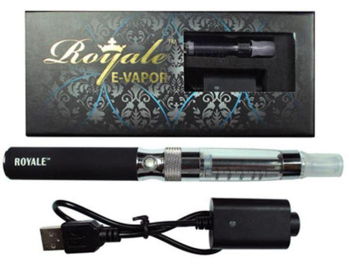 Royal Rechargeable Refillable Clear E-Vapour Pen - Best Bongs And More