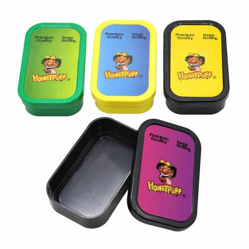 HoneyPuff Plastic Stash Storage Boxes (Choose Colour) - Best Bongs And More