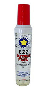 Ezz Butane Gas Lighter Refill 1-2 Pack - Best Bongs And More