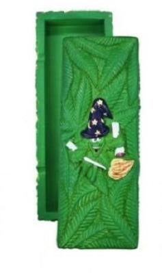 Canna Heros Green Stash Box Storage Compartment Large - Best Bongs And More