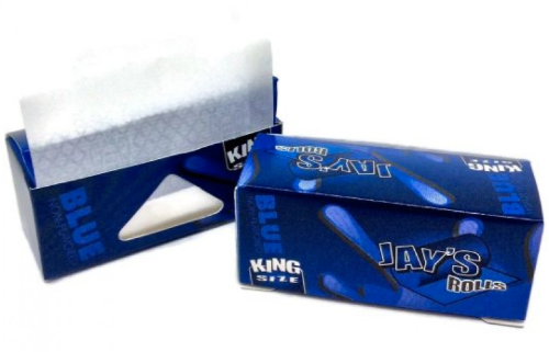 Juicy Jays Blue King Size Rolling Paper Rolls 3 Pack (15 Metres Total)