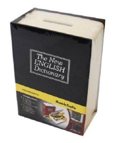 Dictionary Book Safe Stash Storage Compartment With Lock