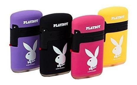 Playboy Design Refillable Twin Jet Lighter