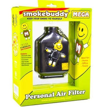 Load image into Gallery viewer, Smoke Buddy Mega Personal Odor Cleaner Smell Filter (Choose Colour) - Best Bongs And More