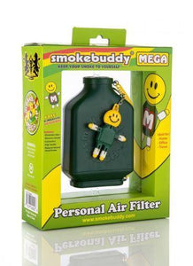 Smoke Buddy Mega Personal Odor Cleaner Smell Filter (Choose Colour) - Best Bongs And More