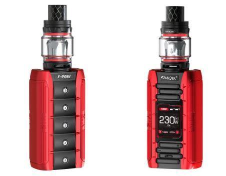 SMOK E-Priv 230W Vape Kit (Choose Colour) - Best Bongs And More